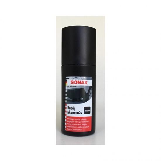 Sonax 409100 Βαφή Πλαστικών Μαύρο 100ml