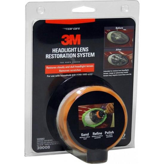 3M 39014 Σύστημα Γυαλίσματος και Επιδιόρθωσης Φαναριών