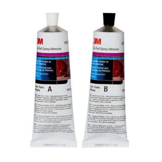 3M 5900 Υλικό Επισκευής Εύκαμπτων Πλαστικών, 2Κ, 300ml