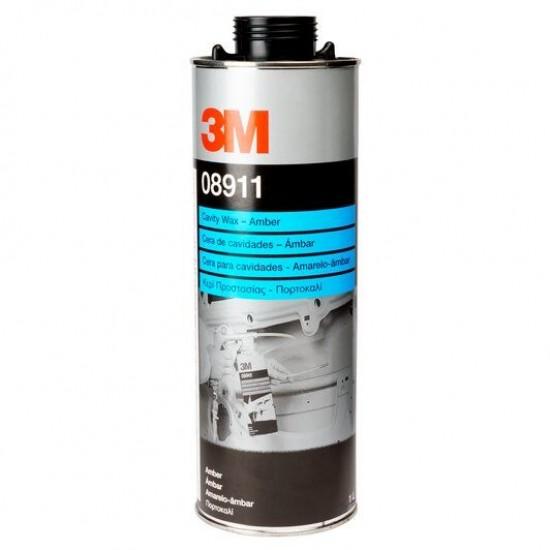 3M 8911 Κερί Για Εσωτερικές Κοιλότητες Σκούρο 1Lt
