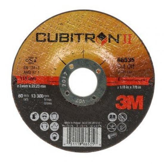 3M 65512 Cubitron II Δίσκος Κοπής 125mm