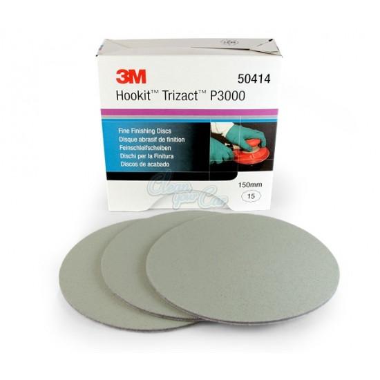 3M 50414 Trizact™ Hookit™ Λειαντικός Δίσκος από Αφρώδες Υλικό P3000 150mm