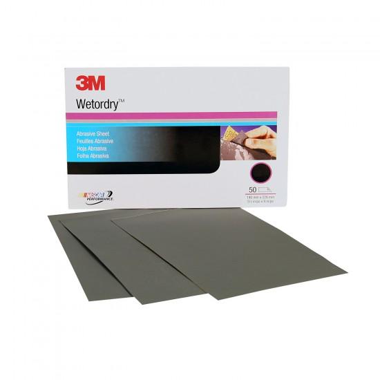 3M 2049 Wetordry™ Λειαντικό Φύλλο P2000 138x230mm