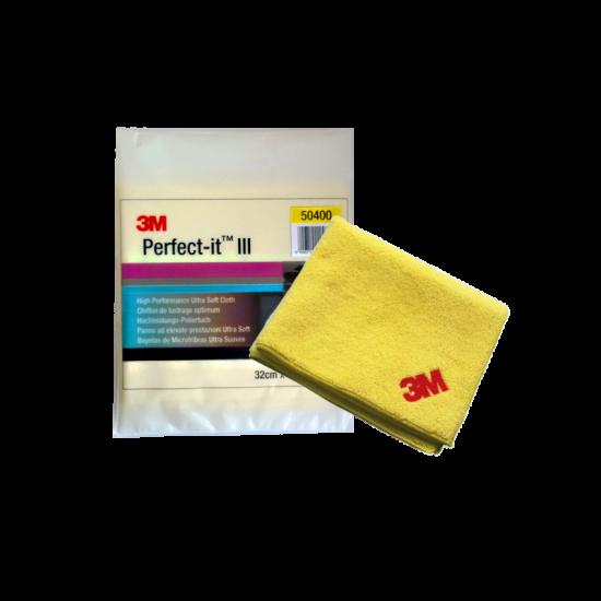 3M 50400 Perfect-IT III Ultra Soft Πανάκι Καθαρισμού Μικροϊνών Κίτρινο 32x36cm