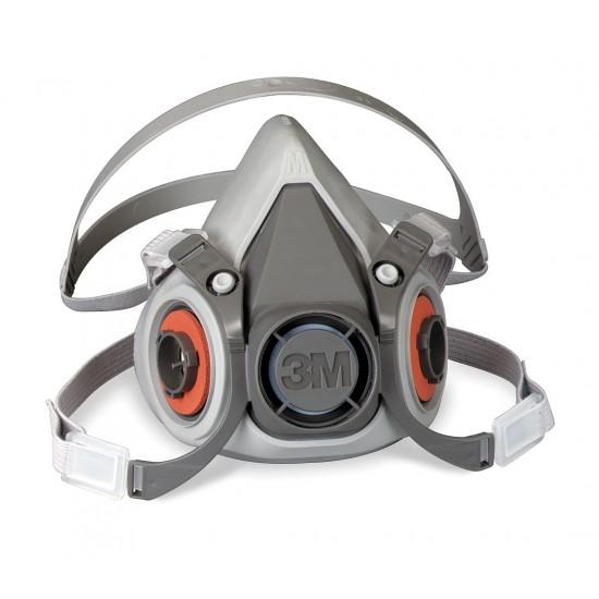 3M 6200 Επαναχρησιμοποιούμενη Μάσκα Μισού Προσώπου, ( Μεσαία )