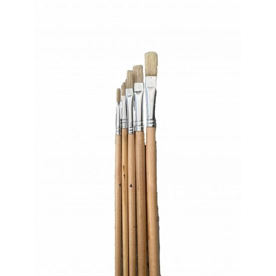Πινέλα Ζωγραφικής Ίσια 1-8mm