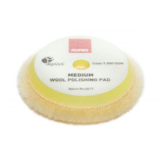 Rupes BW 100M Medium Γούνα Γυαλύσματος με Μικροΐνες για Φινίρισμα 80-90mm
