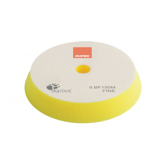 Rupes BF150M Fine Κίτρινο Σφουγγάρι Γυαλίσματος 130-150mm