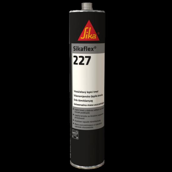 Sika Sikaflex 227 Αρμόκολλα Πολυουρεθάνης Άσπρη-Μαύρη 300ml