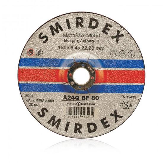 Smirdex 913 Μεταλλικός Τροχός Λειάνσεως 115mm