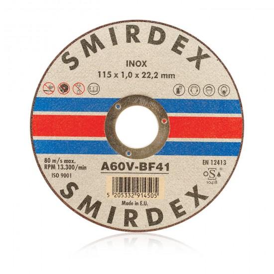 Smirdex 914 Δίσκος Κοπής Μετάλλου Inox 115mm